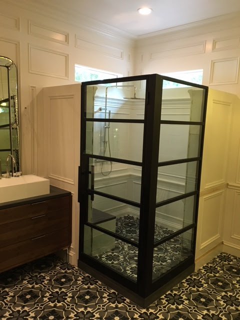 Steel Shower Enclosure Dallas Texas