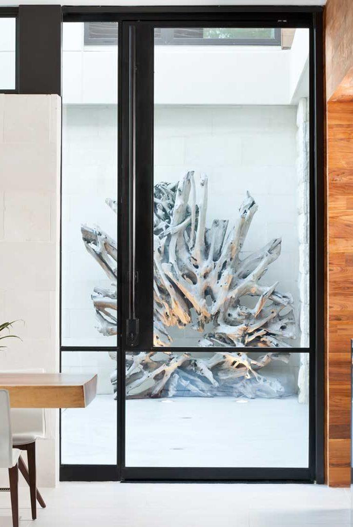 Storefront Exterior Single Door In-Swing