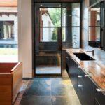 Steel Doors in Bathroom Shower - 3