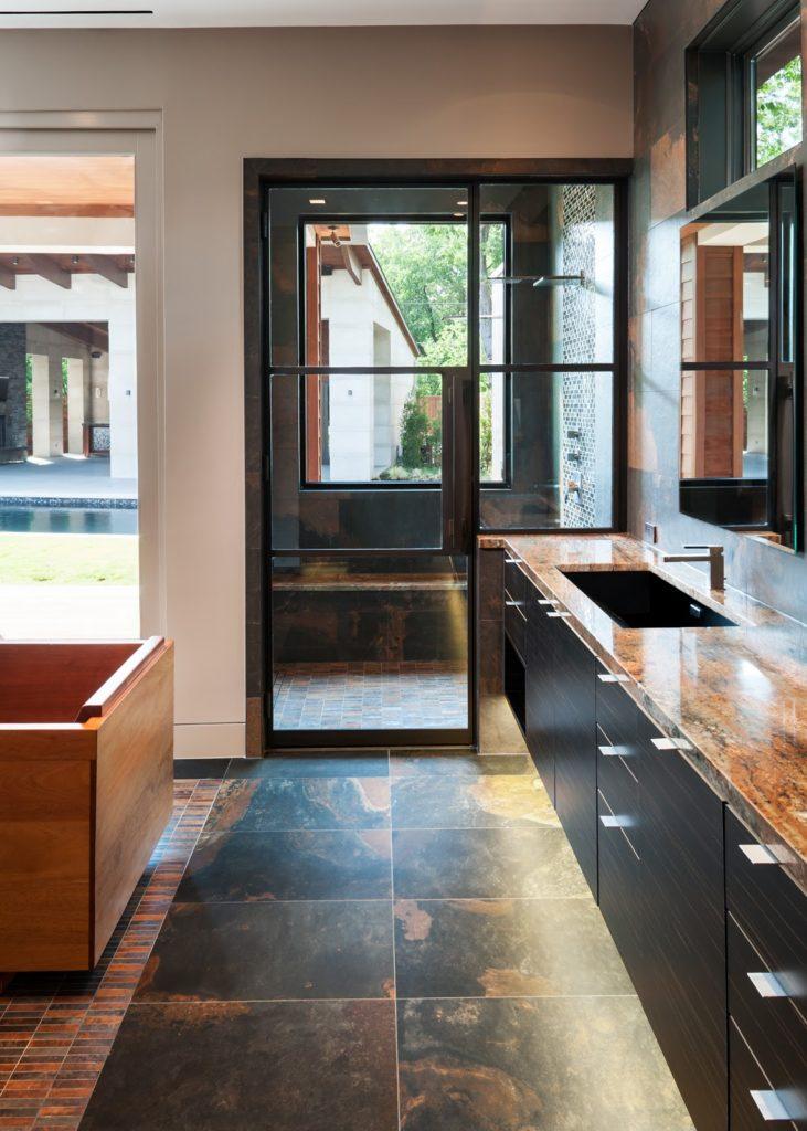 Steel Doors Used In Bathroom Shower Enclosure And Sauna Room Portella