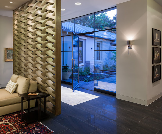 Steel Amp Glass Pivot Door With Sidelites And Transom