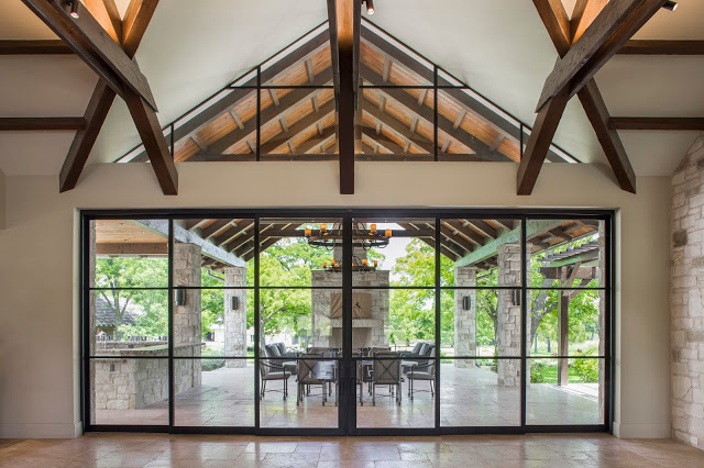 Steel Sliding Doors – Double Horn Ranch Texas