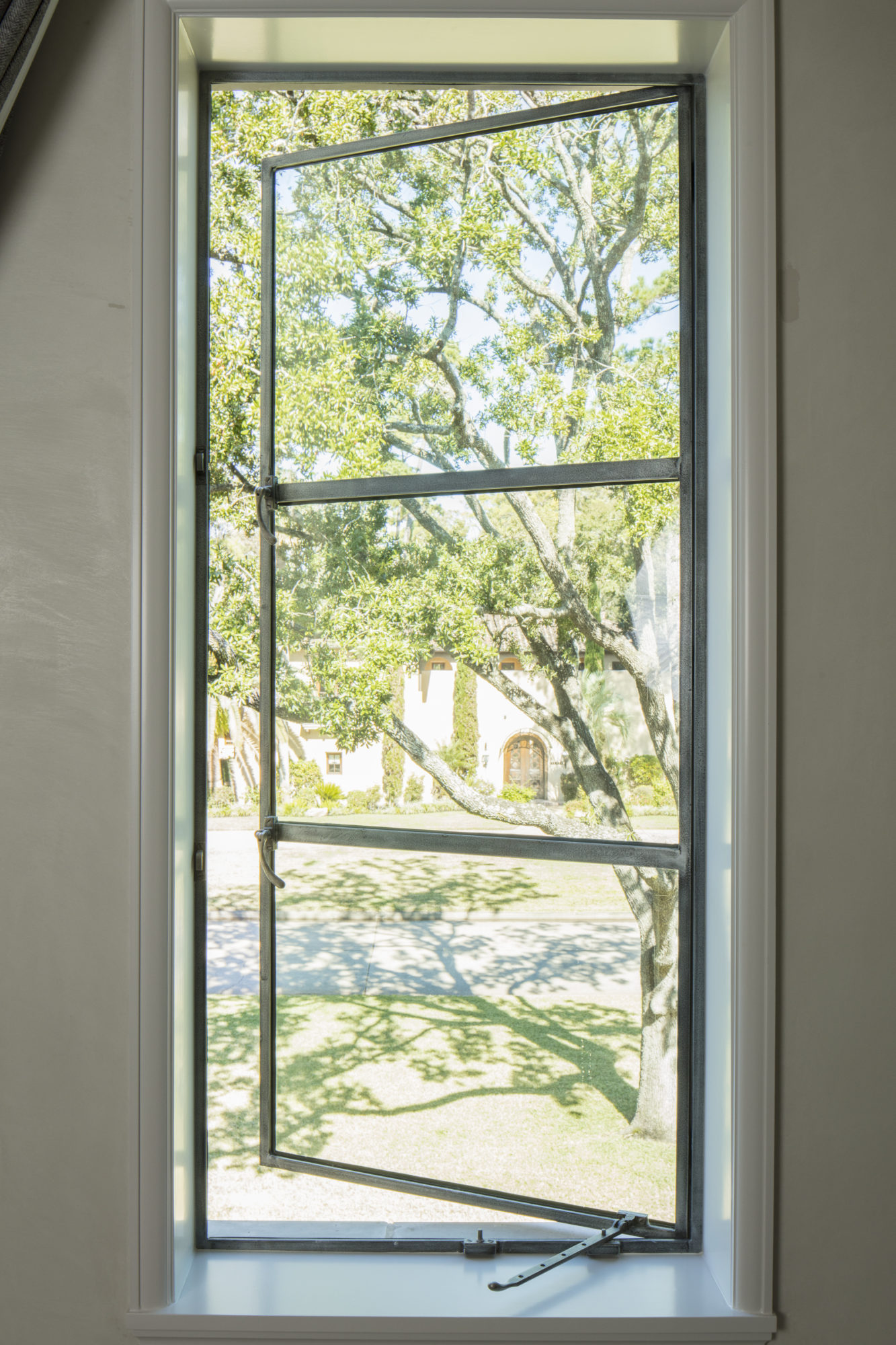 Single Out-Swing Casement with Single Fixed Window