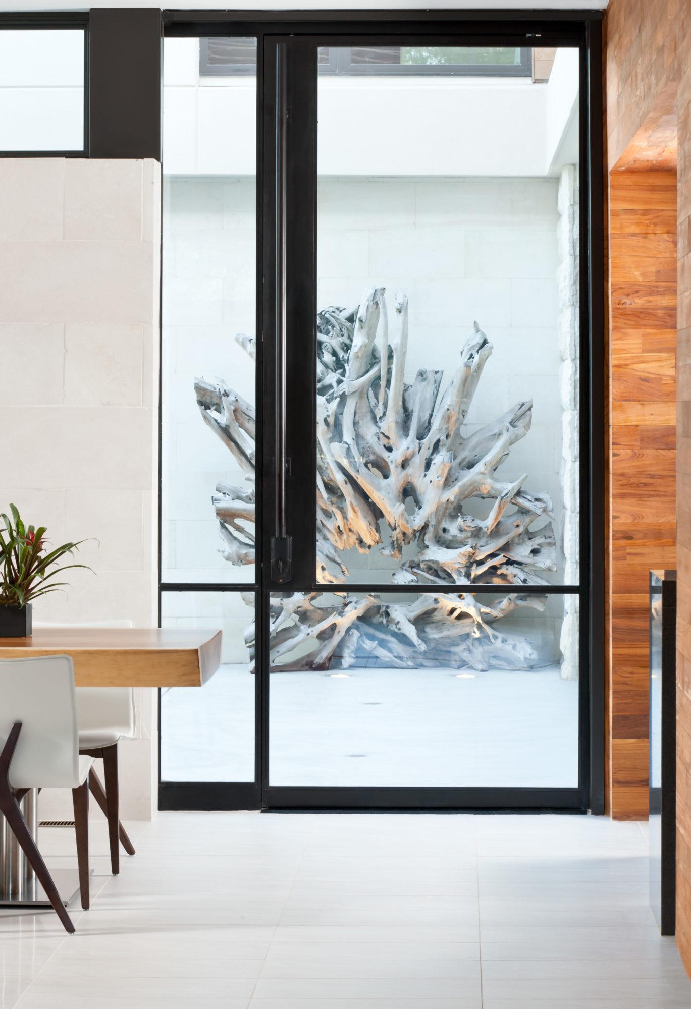Storefront Exterior Pivot Door