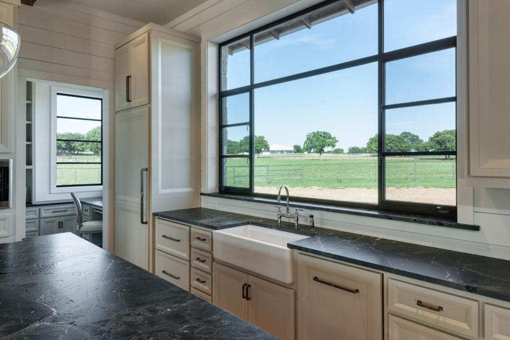 steel kitchen windows