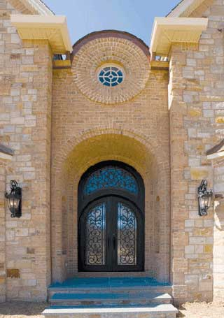 Convey Custom Iron Doors