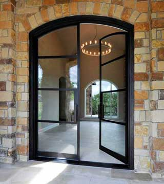 Portella Steel French Door
