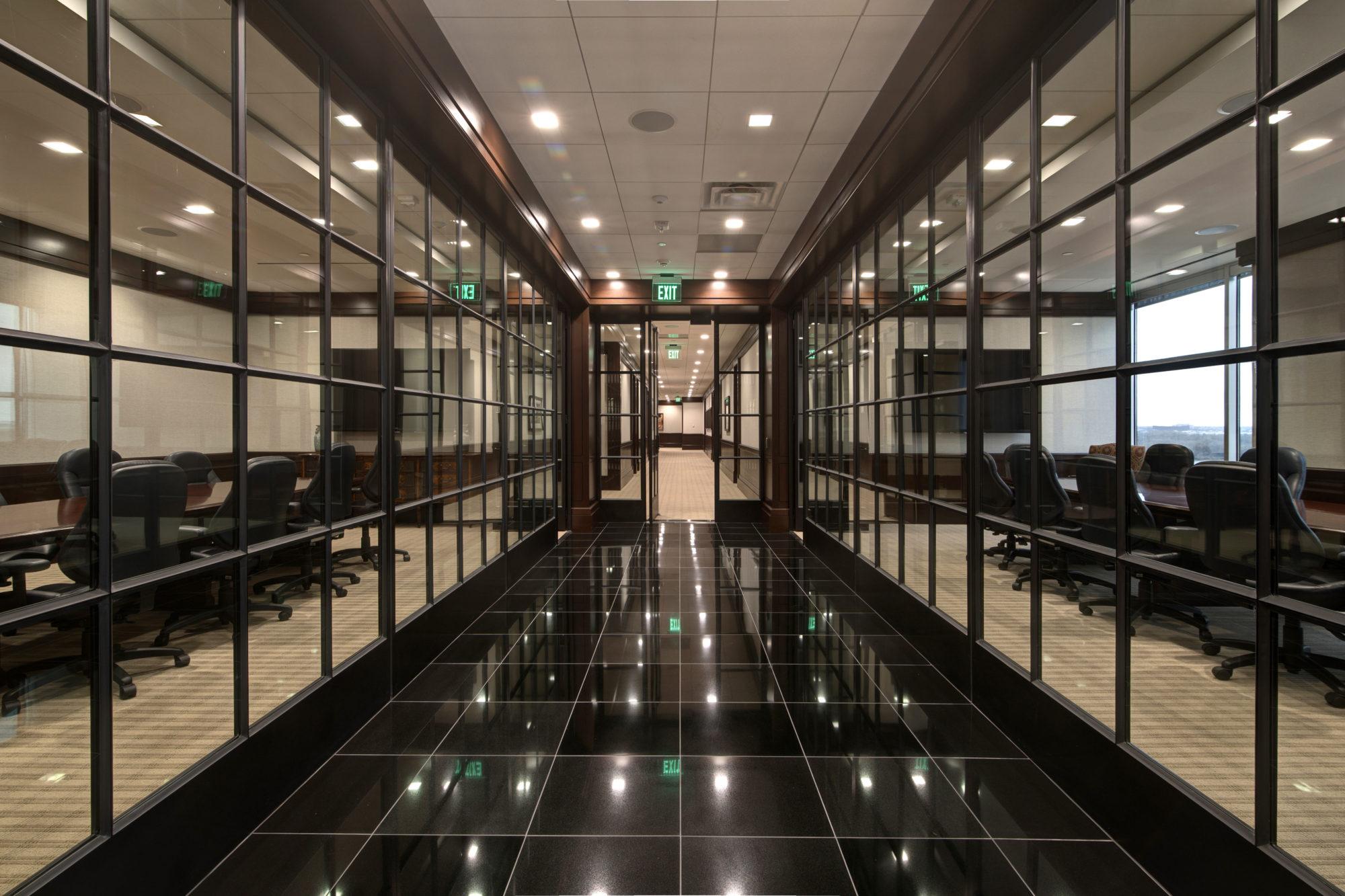 Storefront Interior Bi-fold Door