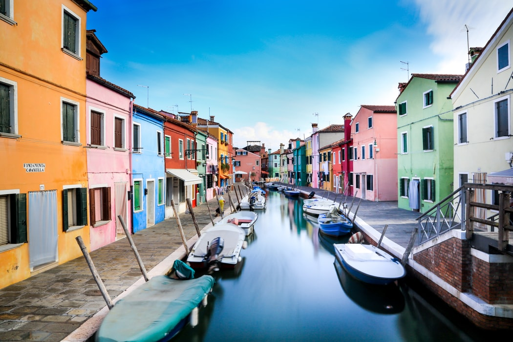 The Mad Colored Houses of Burano in Italy