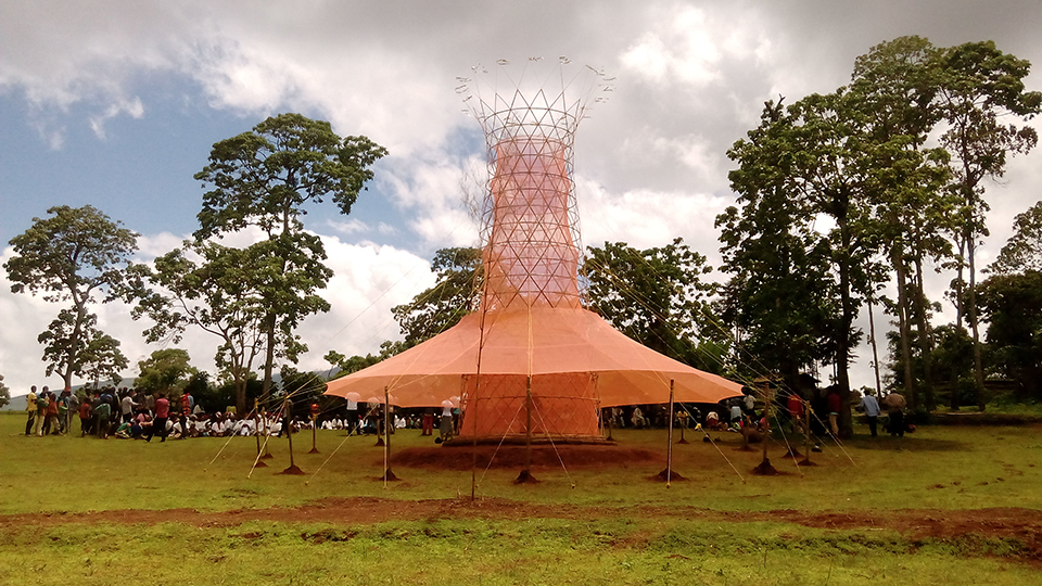 The Warkawater Tower in Ethiopia