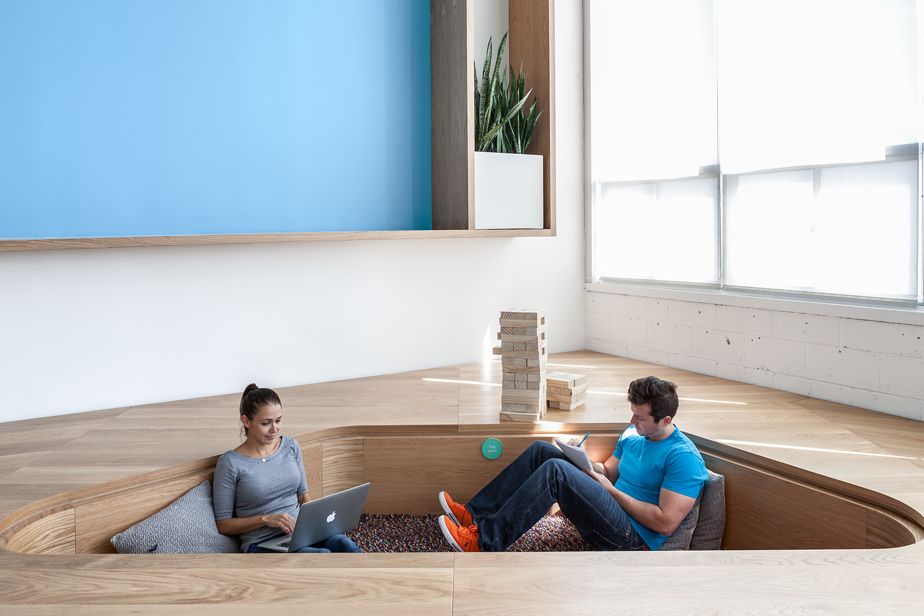 relaxation areas in workplace
