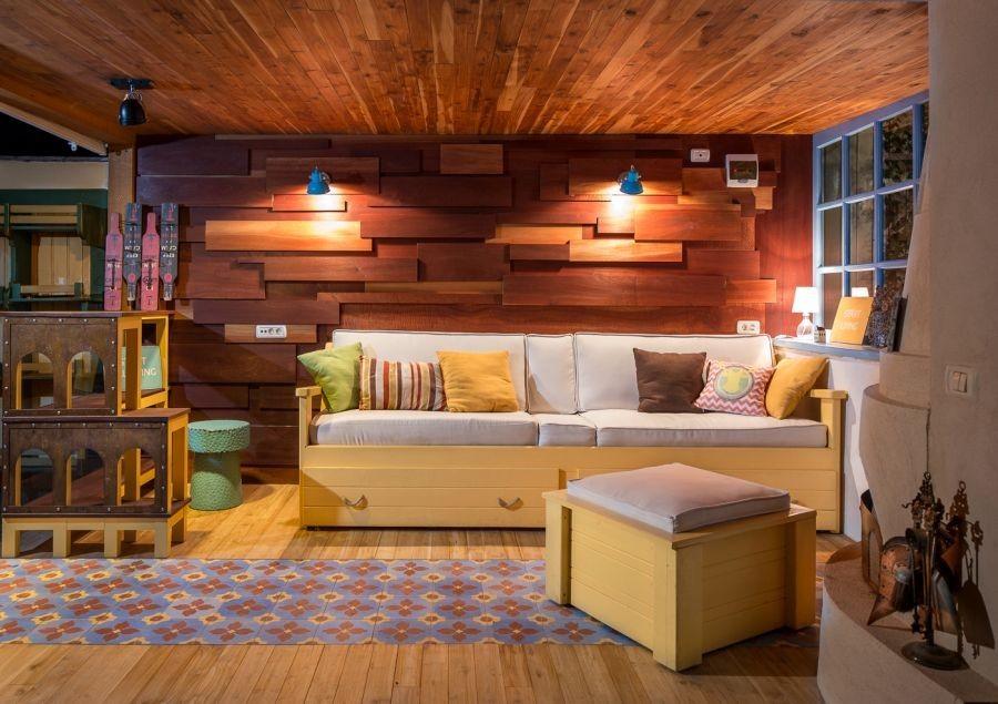 living garage room