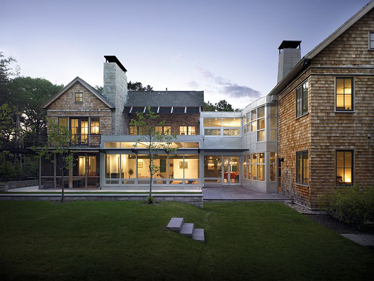 combine modern and traditional architecture
