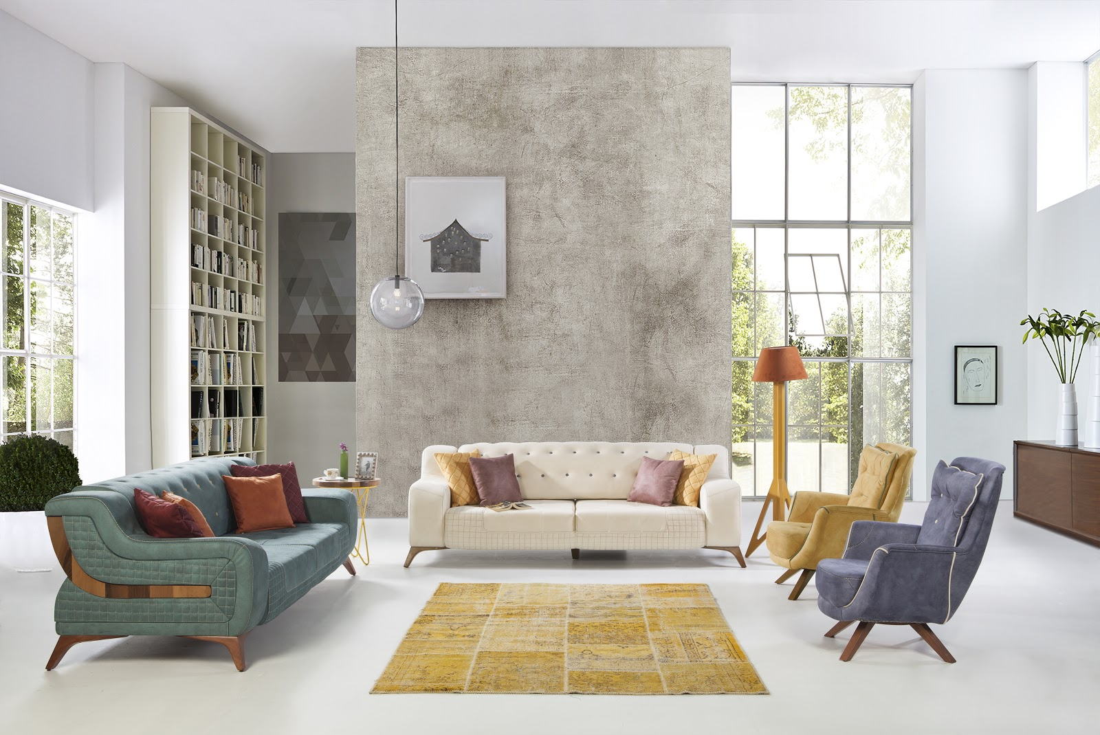 negative space in interior design