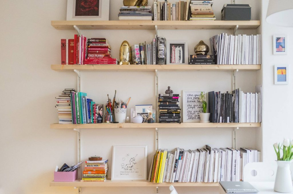 Improving Your Home's Interior Design with Books