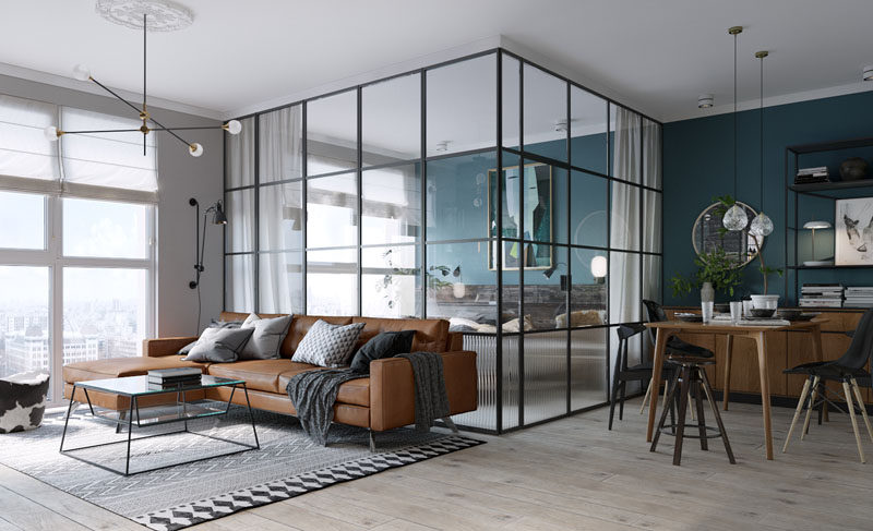 modern interior windows for house