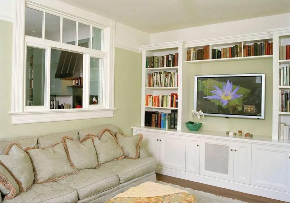 house interior windows