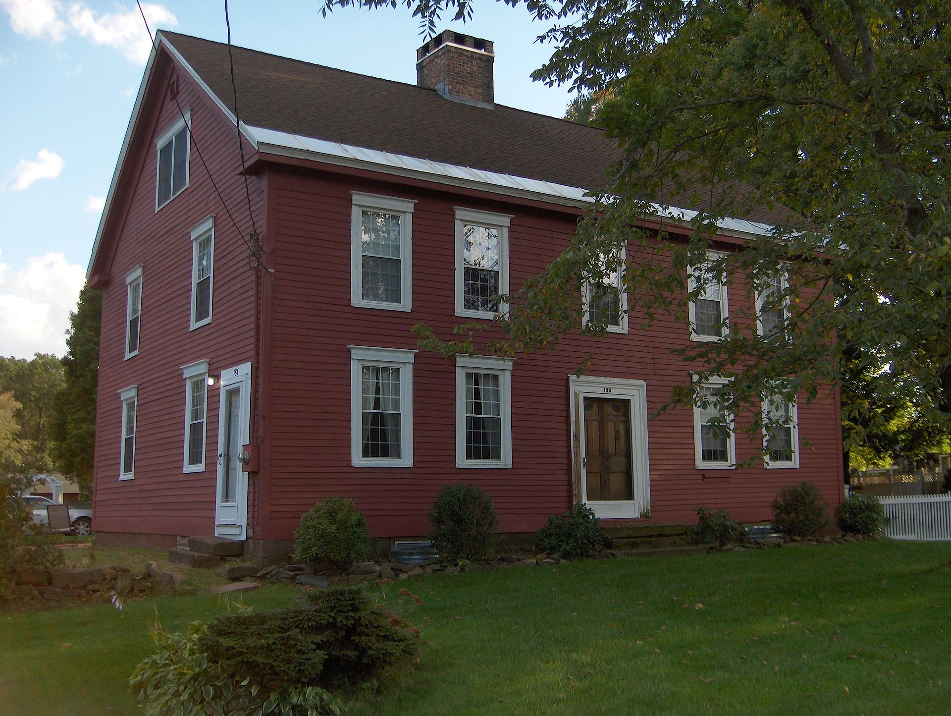 colonial style home