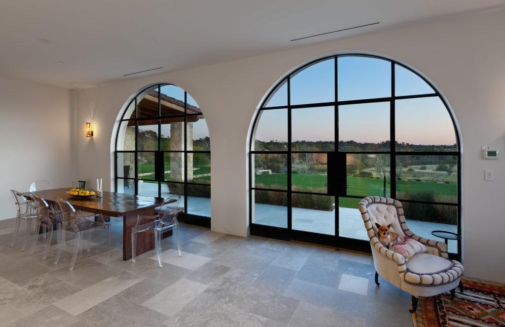 modern steel windows and doors