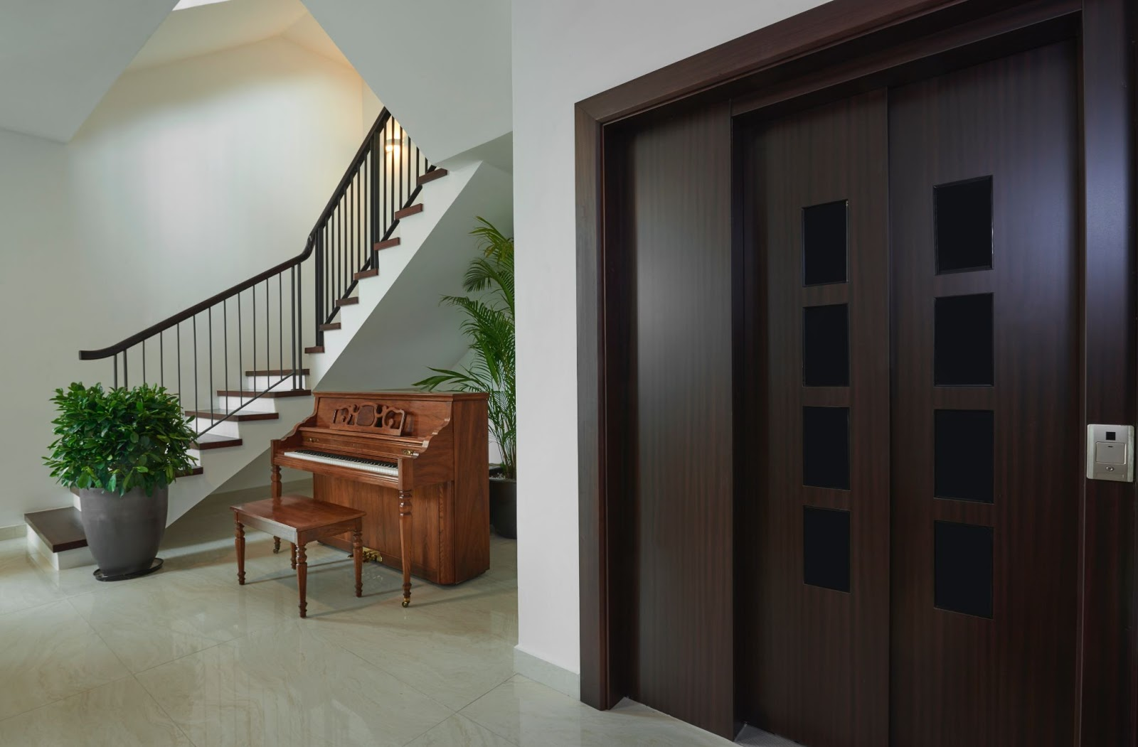 how to mix and match door styles