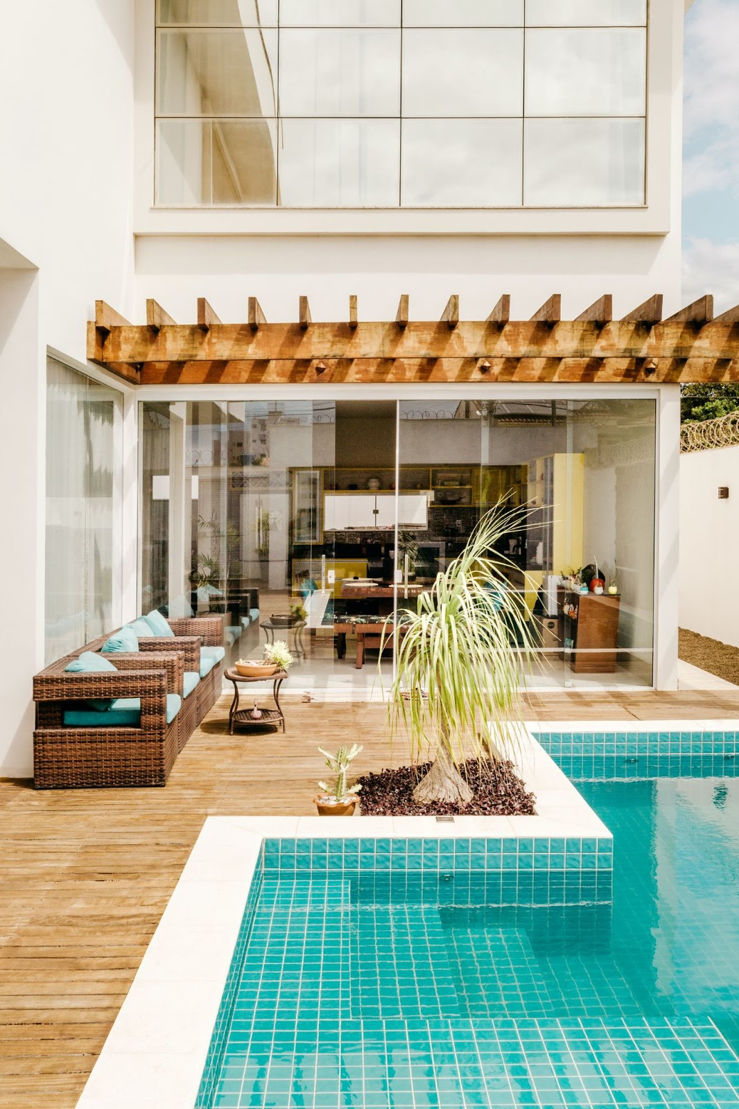 Adding a few amenities to your patio area