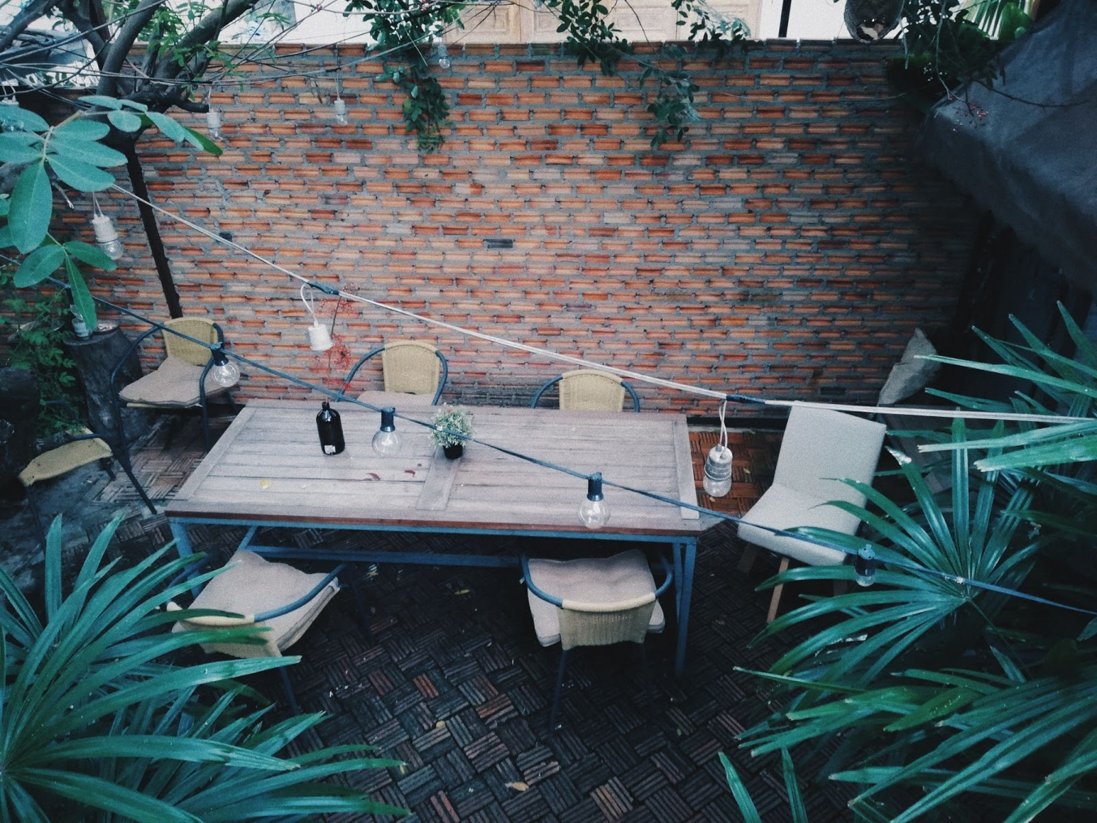 add some interesting things to your patio